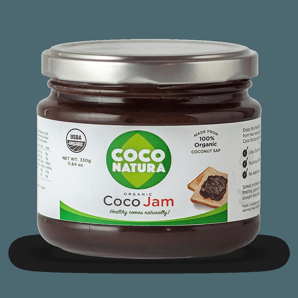 Økologisk kokos marmelade