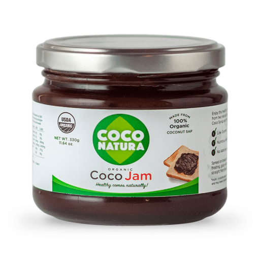 Coco Natura – Økologisk kokos marmelade 330 g