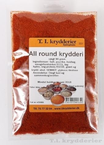 All round krydderi 90 g