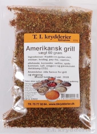 Amerikansk grill krydderi 50 g