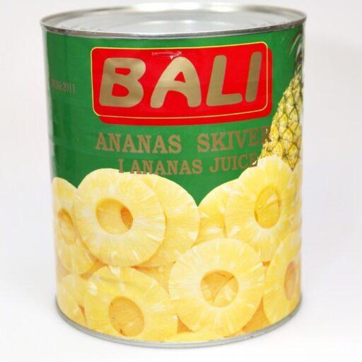 Ananas ringe s sukkerlage 3 kg