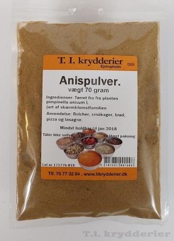 Anispulver 70 g