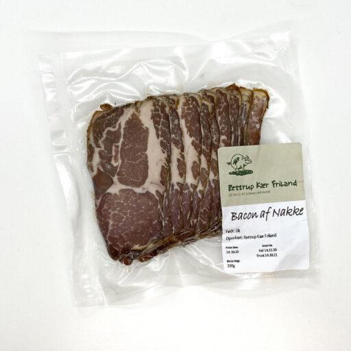 Bacon af nakke 200 gr. Rettrup Kær Friland