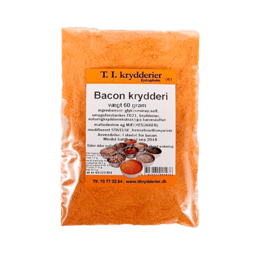 Bacon krydderi 60 g