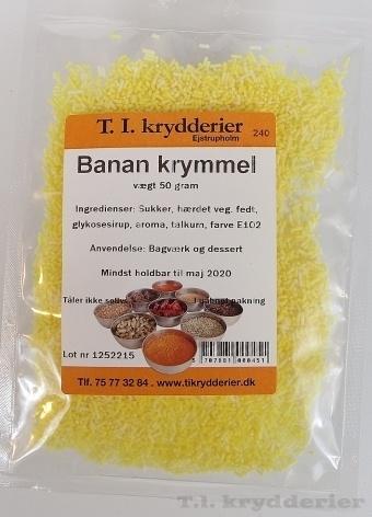 Banan krymmel