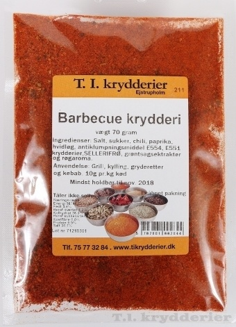 Barbecue krydderi 70 g