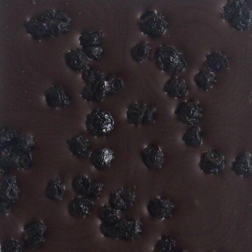 Mørk chokolade med blåbær
