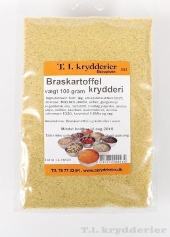 Braskartoffel krydderi