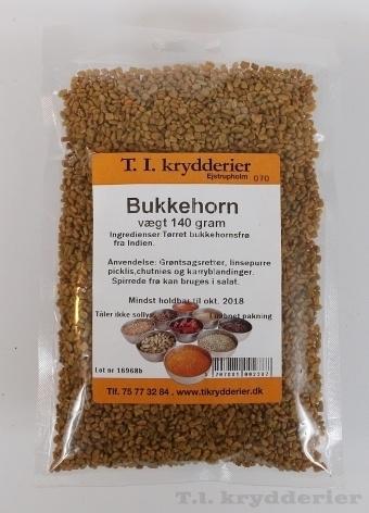 Bukkehornsfrø 140 g
