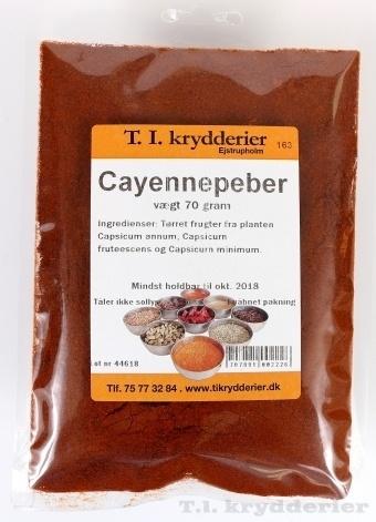 Cayenne peber