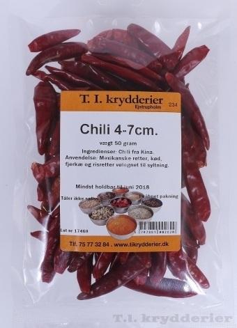 Chili 4-7 cm 50 g