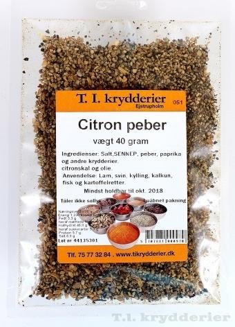 Citron peber