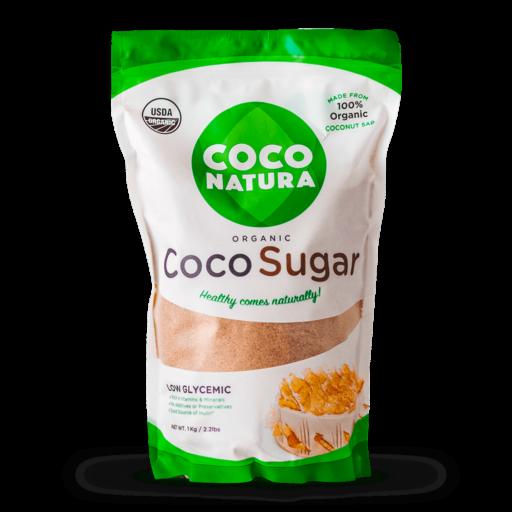 Coco Natura - Økologisk kokossukker 1 kg
