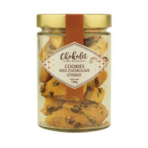 Cookies med chokolade stykker