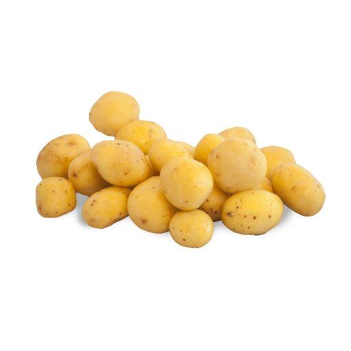 børstede nye Petite kartofler - Skrællede-0