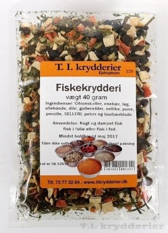 krydderi til fisk