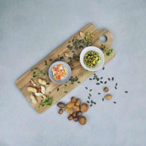 Frø, kerner og nødder