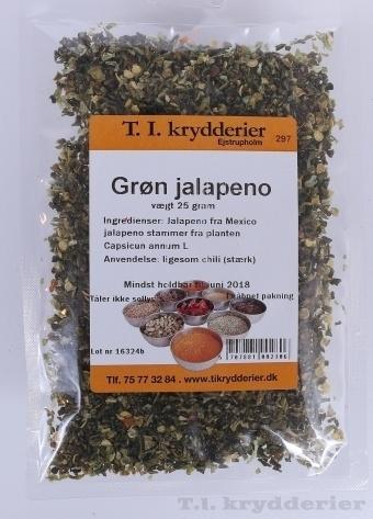 grøn jalapeno