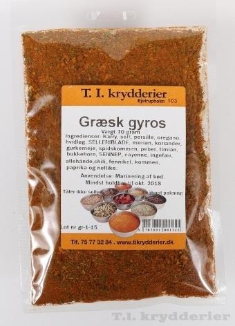 Græsk gyros 60 g