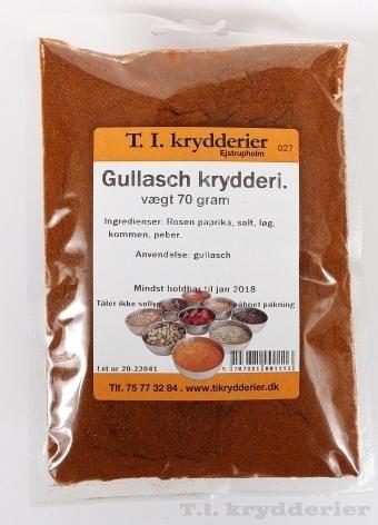 Gullasch krydderi 60 g
