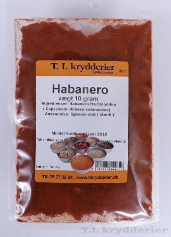 Habanero 10 g