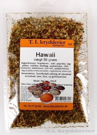 Hawaii krydderi