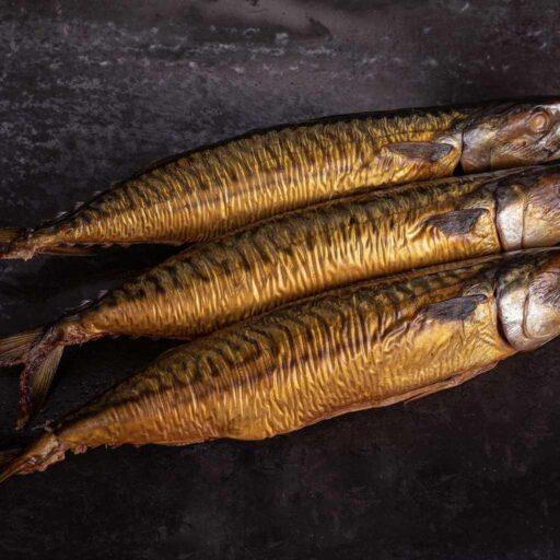 Hel røget makrel 250g