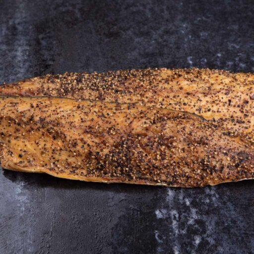 Røget makrel m/peber 120g