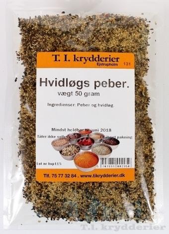 Hvidløgs Peber 40 g