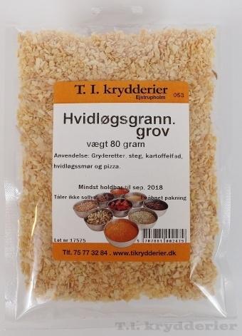 Grov hvidløgsgranulat  80 g