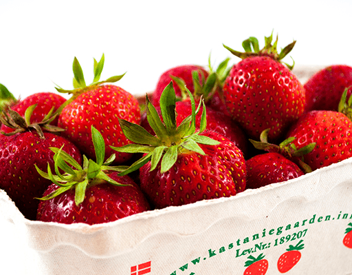 Danske jordbær 500 gr/bk