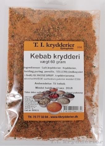 Kebab krydderi