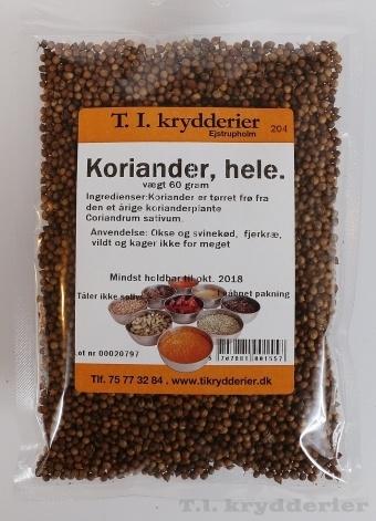 Hel koriander 60 g