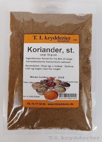 Stødt koriander 70 g