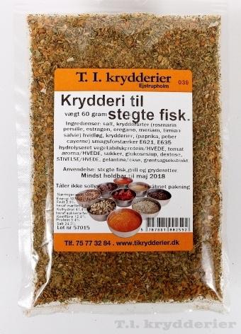 krydderi til stegt fisk