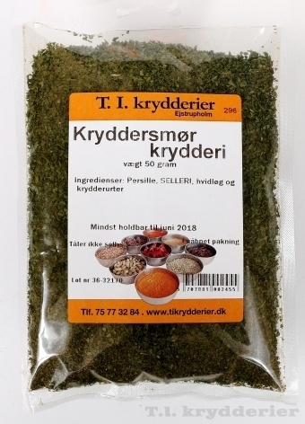 Kryddersmør krydderi 50 g