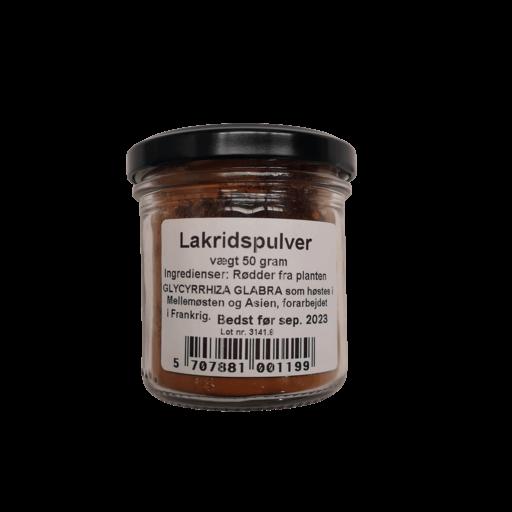 Lakridspulver 50 g