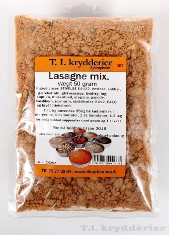 Lasagne mix 50 g