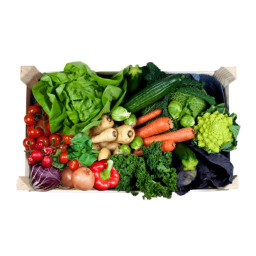 Lille grøntkurv uden kartofler