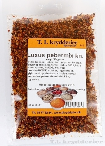 Luksus Peber knust 30 g