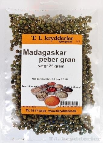 Madagasker Peber 25 g
