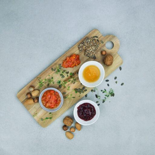 Marmelade, sirup og honning