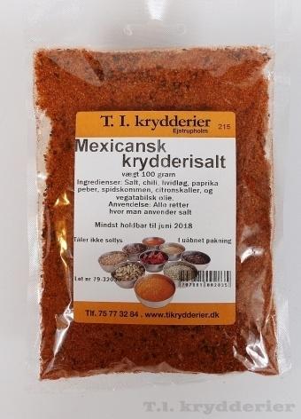 Mexicansk krydderisalt