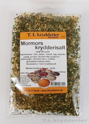 Mormors Krydderisalt 80 g