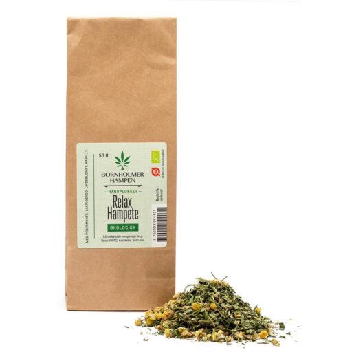 Økologisk hamp te relax 50g