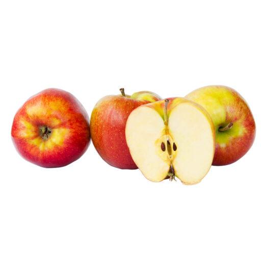 Økologiske æbler 4 stk. i bakke