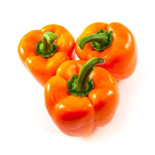 Orange peberfrugt 1 stk.