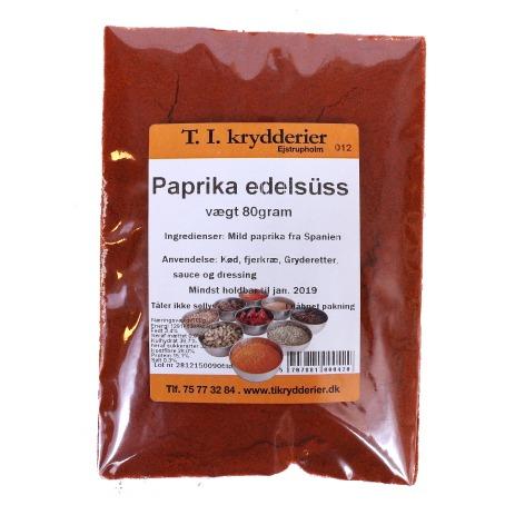 Paprika edelsuss 80 g