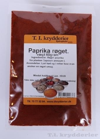 Paprika røget 60 g