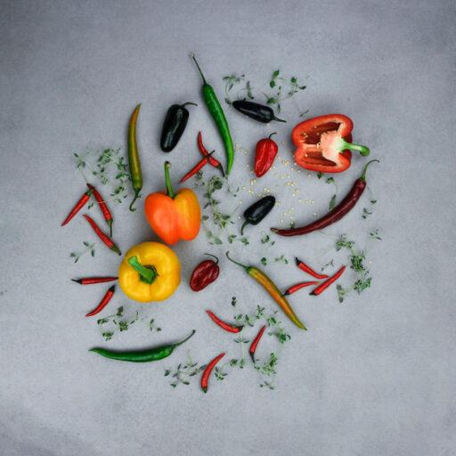 Peberfrugt og chili